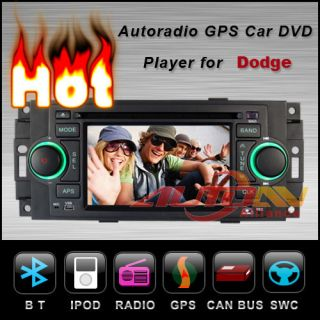 Car DVD Player GPS Navigation Stereo For Dodge Ram Radio 5 0 inch
