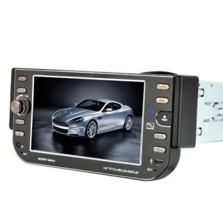 Screen 1 DIN Car Stereo DVD Player Radio iPod Bluetooth US