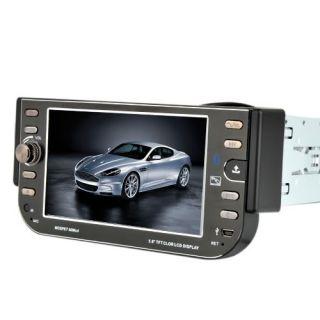 Screen 1 DIN Car Stereo DVD Player Radio iPod Bluetooth US