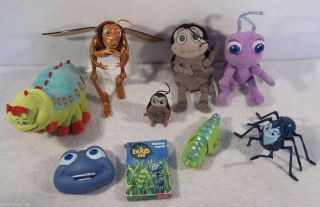 Bugs Life Toys Figures Flik Dot Atta Hopper Circus Bugs A