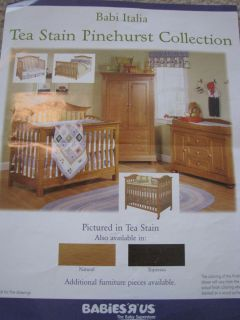 Babi Italia Pinehurst Collection Tea Stain