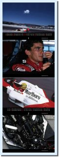Ayrton Senna F1 Formula One McLaren Honda Racing Legend Calendar 2013