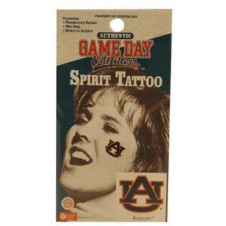 Auburn Temporary Tattoo New Tigers Face Decal Sticker