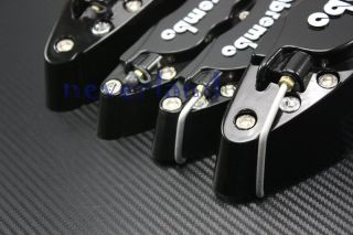 Front Rear Universal Disc Brake Calipers Covers Brembo Look Big