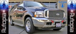 Ford Excursion Super Duty Fog Lights Lamps F250 F350 DY Driving Bumper