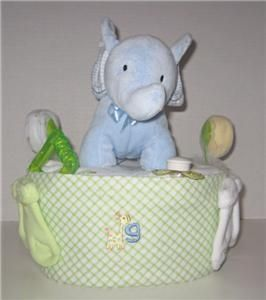 New Baby Shower Gift Diaper Cake Centerpiece 1 Tier