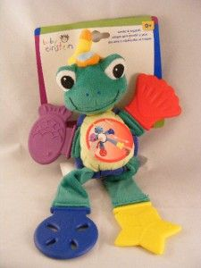 New Disney Baby Einstein Teethe Tug Pals 0M Turtle