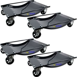 Set of (4) Car Moving Wheel Tire Dolly With HD Wheels Skate Lifter