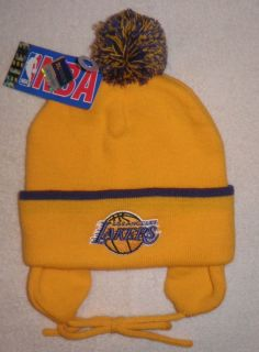Los Angeles Lakers Reebok Knit Toddler Beanie New Infant Baby La Hat