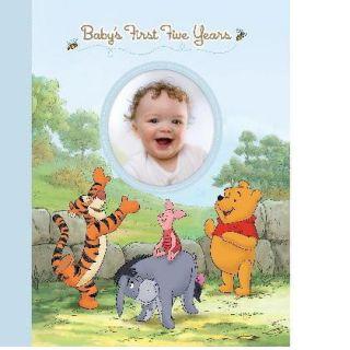 Disney Baby Boys First 5 Years Keepsake Record Book Album with