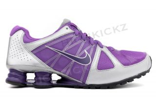 GS Violet Purple Silver 432075 500 New Big Kids Running Shoes