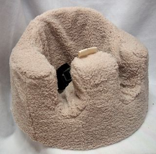 Bumbo Seat Cover Teddy Bear Sherpa Fleece Baby Shower Handmade Gift