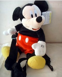 New disney Mickey Baby Toddler Safety Harness Reins Backpack