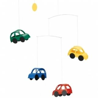 Flensted Automobile Car Hanging Baby Mobile Ships Free