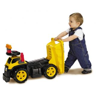 TODDLER kids MEGA BLOKS CAT DUMP TRUCK 3 In 1 Ride On Walker Push