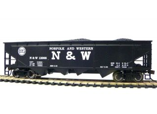 HO Scale Model Railroad Trains Layout Bachmann Norfolk Western Quad