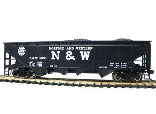 HO Scale Model Railroad Trains Layout Bachmann Norfolk Western Quad