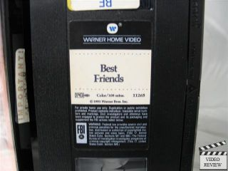 Best Friends VHS Burt Reynolds Goldie Hawn