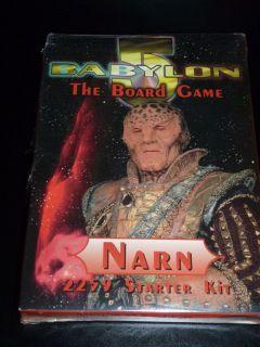 Babylon 5 Component Boxed Game  Narn Starter MIB