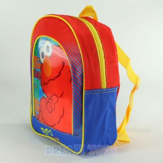 Sree Elmo Hologram 11 Mini Backpack Boys Book Bag oddler