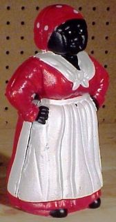 Cast Iron Bank Large Aunt Jemima Mammy 10 1 2 Antique Repro