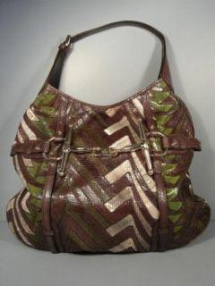 Gucci Snakeskin Large Horsebit Ayers Hobo Tote Handbag $4974 Liimited