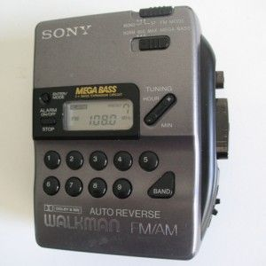 Sony Wm FX43 Auto Reverse Cassette Tape Player Walkman