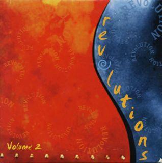 Revolutions Volume 2 CD Vanguard Joan Baez Jerry Jeff Walker Woody