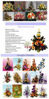 Mega Curso Decoración Con Arreglos Florales Flores