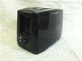 Kitchen Aid Toaster KTT340OB Black   2 Wide Slice Perfect for Bagels