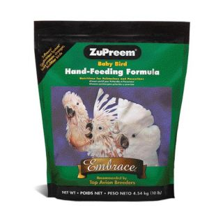 Zupreem Embrace Food Baby Bird Hand Feeding Formula 5 Pounds 96040