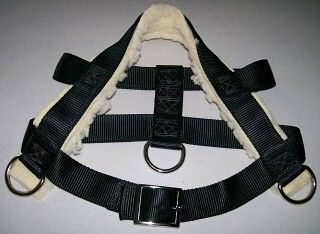 Dog Pulling Harness Professional Grade Double Ply Nylon