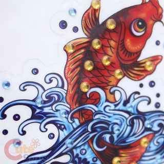 Ed Hardy Koi Cling Decal Sticker Auto Accessories