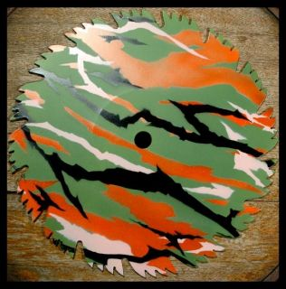 Vietnamese Tiger Camouflage Airbrush Stencil Template