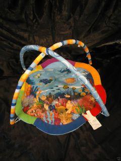 Baby Einstein Ocean Theme Play Mat Activity Gym Only