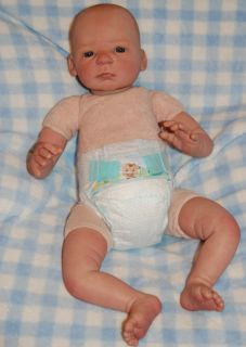 baby is reborn from a real effects nele sculpt by gudrun legler baby