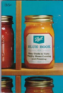 Ball Jars Blue Book Easy Guide to Home Canning Freezing Edition 28
