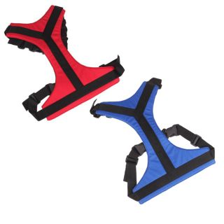 Red Blue Universal Fit Car Vehicle Pet Dog Safety Seat Belt Adjustable