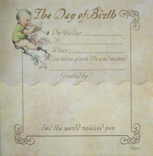 Terra Traditions Baby Record Book Baby Moon