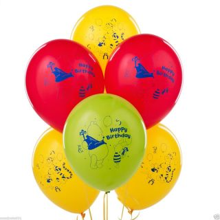 Disney Winnie The Pooh Tigger Party Latex Balloons