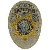 Baldwin Park California Police Officer Badge Lapel Pin