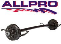 LB DEXTER TRAILER AXLE W BRAKES 95 80 FITS RV CAMPER AND CAR TRAILERS