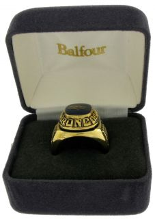 Balfour Ring Boxed Football Offical Nfl Denver Broncos Sz 12.5