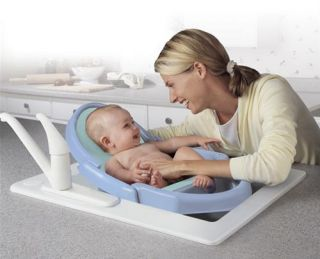 Safety 1st Tubside Baby Bath Tub Seat Ring Infant White