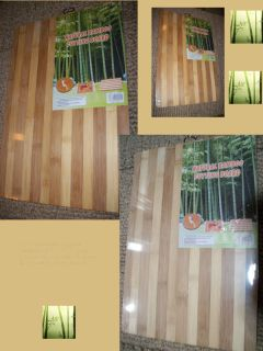 Natural Hardwood Bamboo Wood Cutting Board Great Gift 131 2 x 91 2 x 3