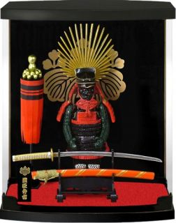 New Samurai Warrior Mini Armor Toyotomi Hideyoshi Historical Figure