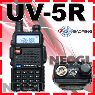 Up for Sale is a 100% Brand New BaoFeng UV 5R dual band radio