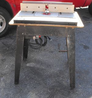 Porter Cable Model 7519 Production Router Bosch Table