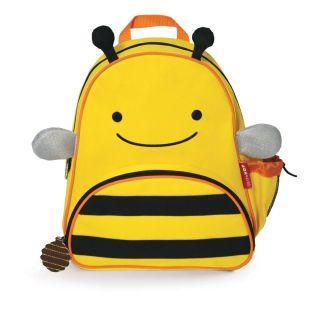 Skip Hop Zoo Pack Kids Backpack Small Animal Bee Boy Girl School Fast