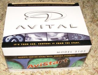 Avital 2 Remote Start Car Alarm Auto Start Model 5103
